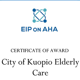 Kuopio received a significant recognition