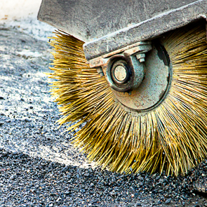 Maintenance and sanitation of street areas